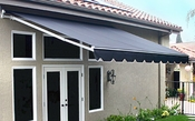 Retractable Patio Awnings - Brass Series
