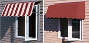 Sunbrella Fabric Casement Window Awnings