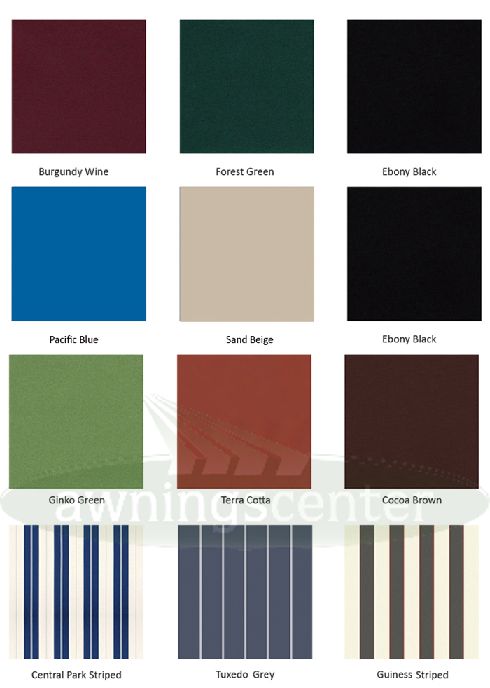 Replacement Awning Fabric - D I Y  Vinyl Awnings