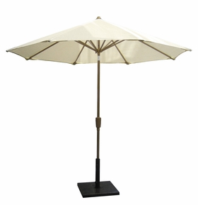 Coolaroo Nine Foot Round Aluminum Patio Umbrella