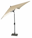 Coolaroo 8 Foot Square Aluminum Market Umbrella