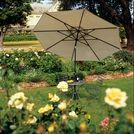 Coolaroo 11 Foot Round Aluminum Patio Umbrella