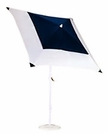 California Umbrella Square Canopy Aluminum Patio Umbrella