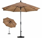 California Umbrella Aluminum Market Umbrellas with Fiberglass Ribs - 9' & 11'