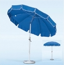 California Umbrella 8-ft 5-in Aluminum Patio Umbrella with Valance