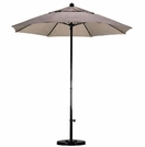California Umbrella 7-ft 6-in Fiberglass Market Umbrellas with Fiberglass Ribs