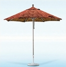 California Umbrella Heavy-Duty Aluminum Market Umbrella - 9 Foot
