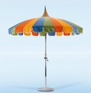 California Umbrella Pagoda Styled Patio Umbrella - 8'6""
