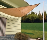 Coolaroo Quik-N-EZ Shade Sail - Triangular Style