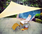 Premium Series Shade Sails - Triangular Sun Shade Sails
