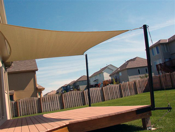 Kokaburra square shade sails premium series for Shade sail cost