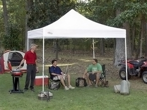 King Canopy Festival Tent - Instant Canopy With Steel Legs in Three Sizes