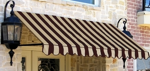 Beauty Mark Dallas Retro Series Window Awning