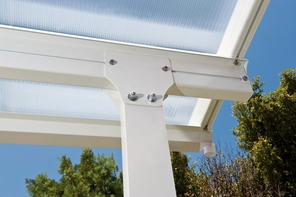 Porch Cover - Multi-Layered Polycarbonate Patio - Porch Awning 10 x 14