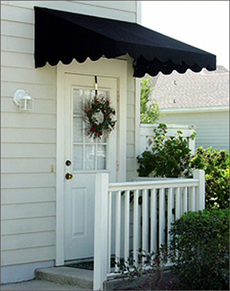 Door canopies sunbrella awning canvas for Window awnings