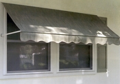 Rainbo Window Awnings - Sunbrella Fabric Window Awning