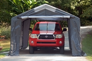 King Canopy StorGuard Extra-Duty Garage Available in Three Sizes