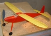 Miss Canada Junior #FF04 Easy Built Models Balsa Wood Model Airplane Kit Rubber Powered