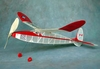 Miss Canada Senior #FF11 Easy Built Models Balsa Wood Model Airplane Kit Rubber Powered