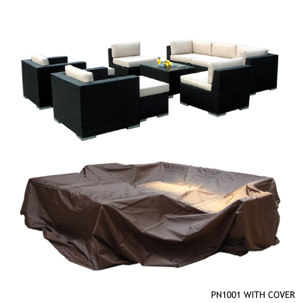 Ohana Outdoor Patio Furniture Protective Cover   Large