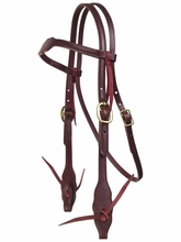 TUCKER SANTA FE TRAIL BRIDLE (BN, BK) 166