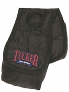 TUCKER POMMEL BAG-TUCKER LOGO-NYLON (BN, BK) 4703-10