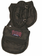 TUCKER SADDLE CANTLE BAG-TUCKER LOGO-NYLON (BN, BK) 4705-10