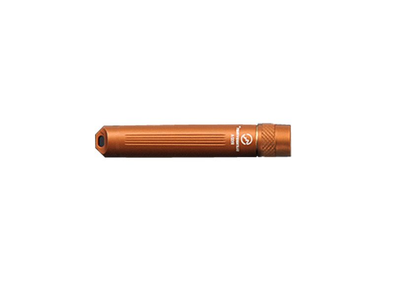 SUNWAYMAN R02A R5 Compact LED Flashlight - Uses 1 x AAA - Orange Finish