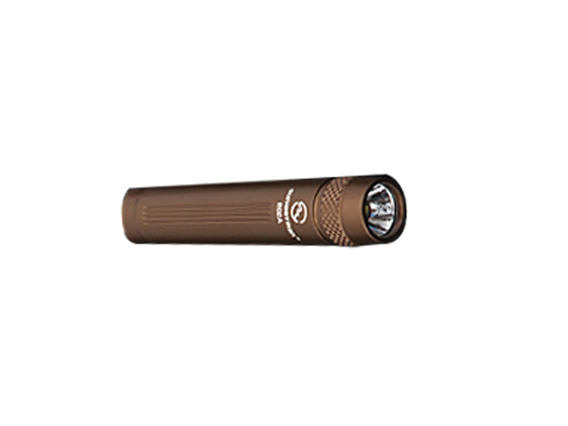 SUNWAYMAN R02A R5 Compact LED Flashlight - Uses 1 x AAA - Brown Finsish