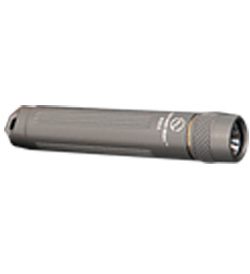 SUNWAYMAN R02A R5 Compact LED Flashlight - Uses 1 x AAA - Grey Finish