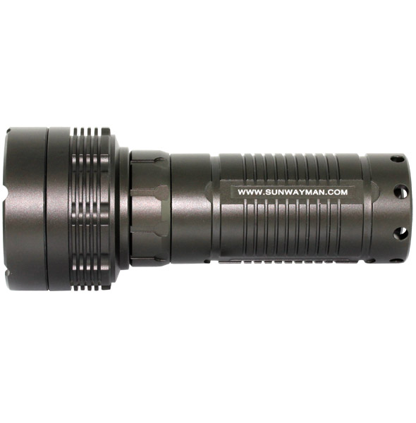 SUNWAYMAN M30A-T6 LED Flashlight - 338 Lumens - Uses 3 x AA Batteries (Not Included)