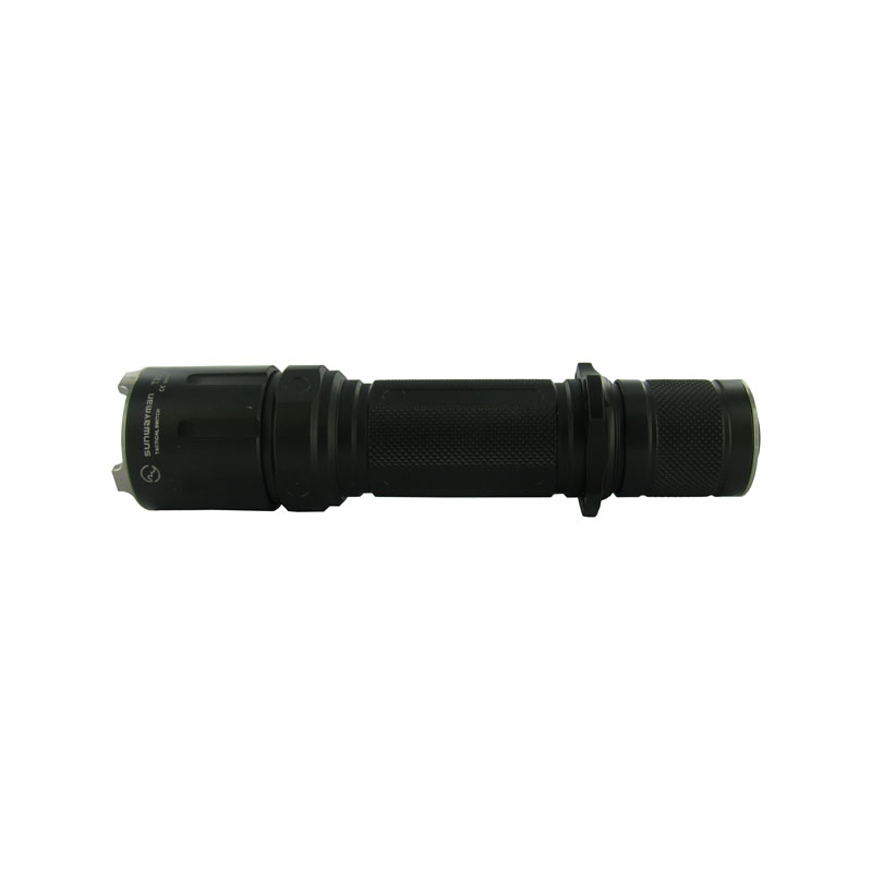 SUNWAYMAN T20C LED Flashlight with CREE XM-L T6 LED- 438 Lumens, 2 x CR123A or 1 x 18650 Battery
