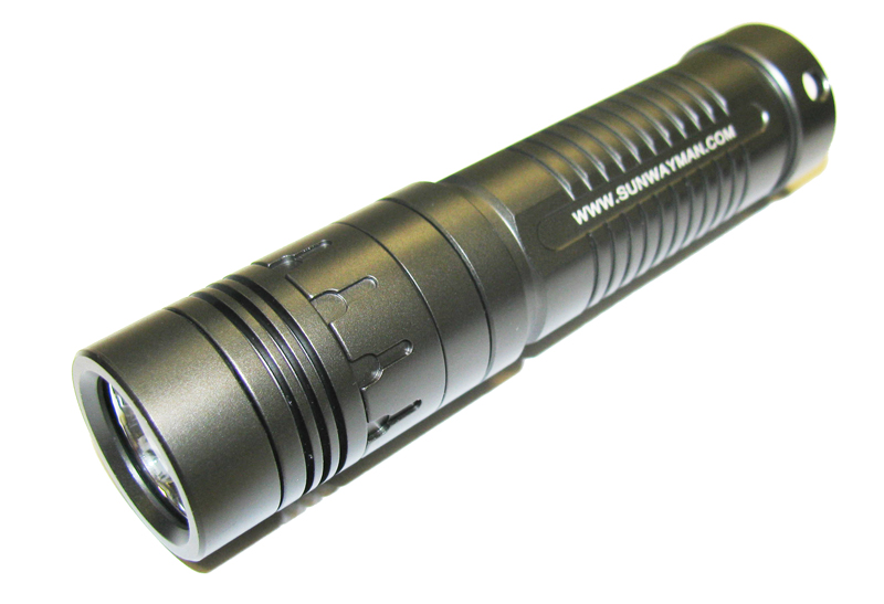 SUNWAYMAN V10A LED Flashlight 140 Lumens - 1 x AA