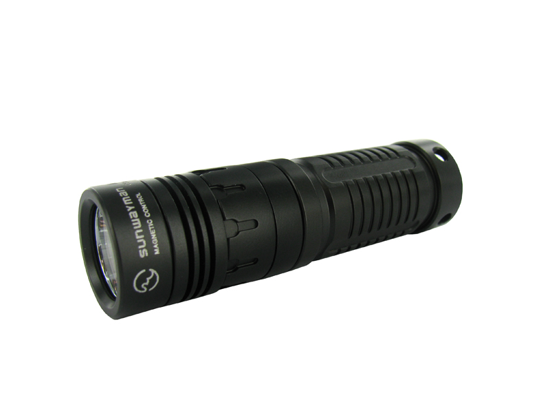SUNWAYMAN M10R LED Flashlight with 210 Lumen CREE XM-L U2 LED - Uses 1xR/CR123A