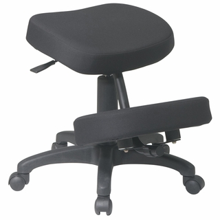 Office Star Work Smart Knee Chair w/ Memory Foam - KCM1425 - Click to enlarge