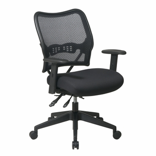 Office Star Space Dual-Function AirGrid Back Office Chair - 13-37N9WA - Click to enlarge