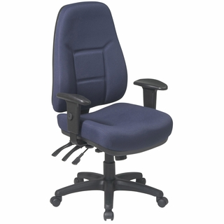 Office Star Work Smart Ergonomic High Back Office Chair - 2907 - Click to enlarge