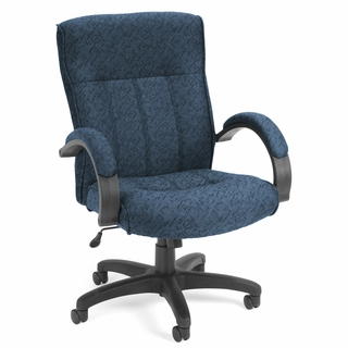 OFM Upholstered Executive / Conference Mid-Back Chair - 453 - Click to enlarge