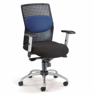 OFM AirFlo Executive Chair w/ Brushed Metal Accents - 651 - Click to enlarge