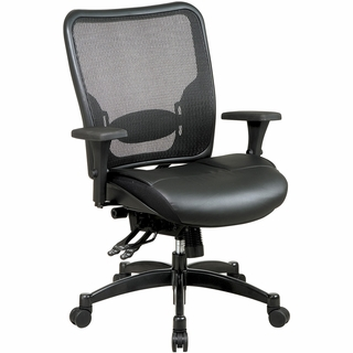 Office Star Space Dual-Function Breathable Mesh Office Chair - 68-50764 - Click to enlarge