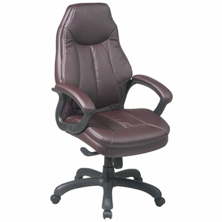 Office Star Work Smart Oversized Executive Chair - FL642 - Click to enlarge