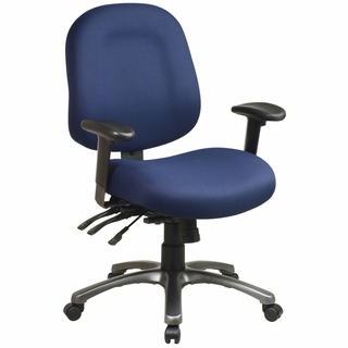 Office Star ProLine II Multi-Function Mid Back Office Chair - 8512 - Click to enlarge
