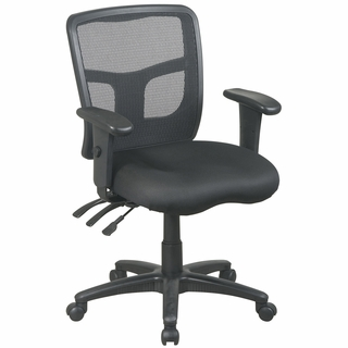 Office Star ProLine II ProGrid Back Managers Chair - 92343 - Click to enlarge