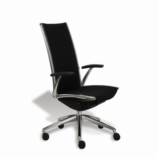 Ergo Office Modern Black Mesh Executive Office Chair - x5283 - Click to enlarge