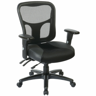Office Star ProLine II Mesh ProGrid Managers Chair - 98346 - Click to enlarge