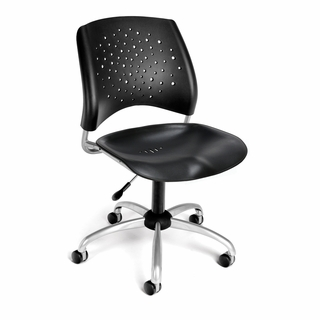 OFM Stars Swivel Plastic Chair - 326-P - Click to enlarge