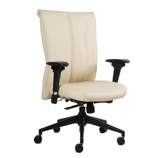 Ergo Office Linea Leather Task Chair - Click to enlarge