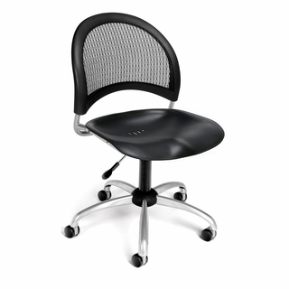 OFM Moon Plastic Swivel Chair/Stool - 336-P - Click to enlarge