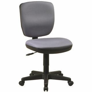 Office Star Work Smart Contemporary Task Chair w/ Lumbar Support - SC3014 - Click to enlarge