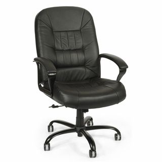 OFM Big & Tall Leather Chair - 800-L - Click to enlarge